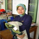 Mengajar Mata Pelajaran BAHASA  INDONESIA SITI MUTMAINAH, M.Pd